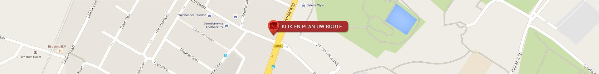 Plan uw route Zen Restaurant